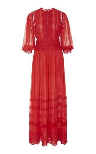 COSTARELLOS | Costarellos Silk Chiffon Maxi Dress | Goxip