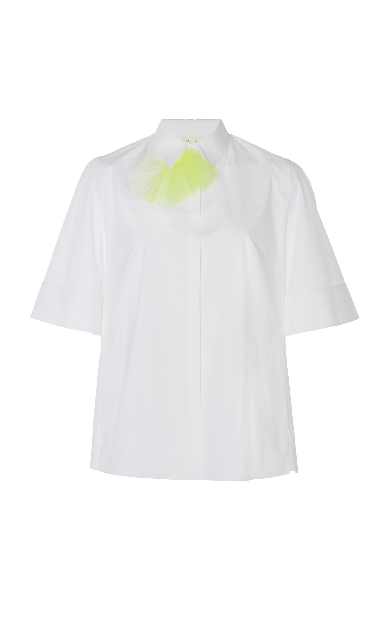 Wide Short Sleeve Shirt Delpozo View Manchester Get To Buy For Sale fhSolGCOYm