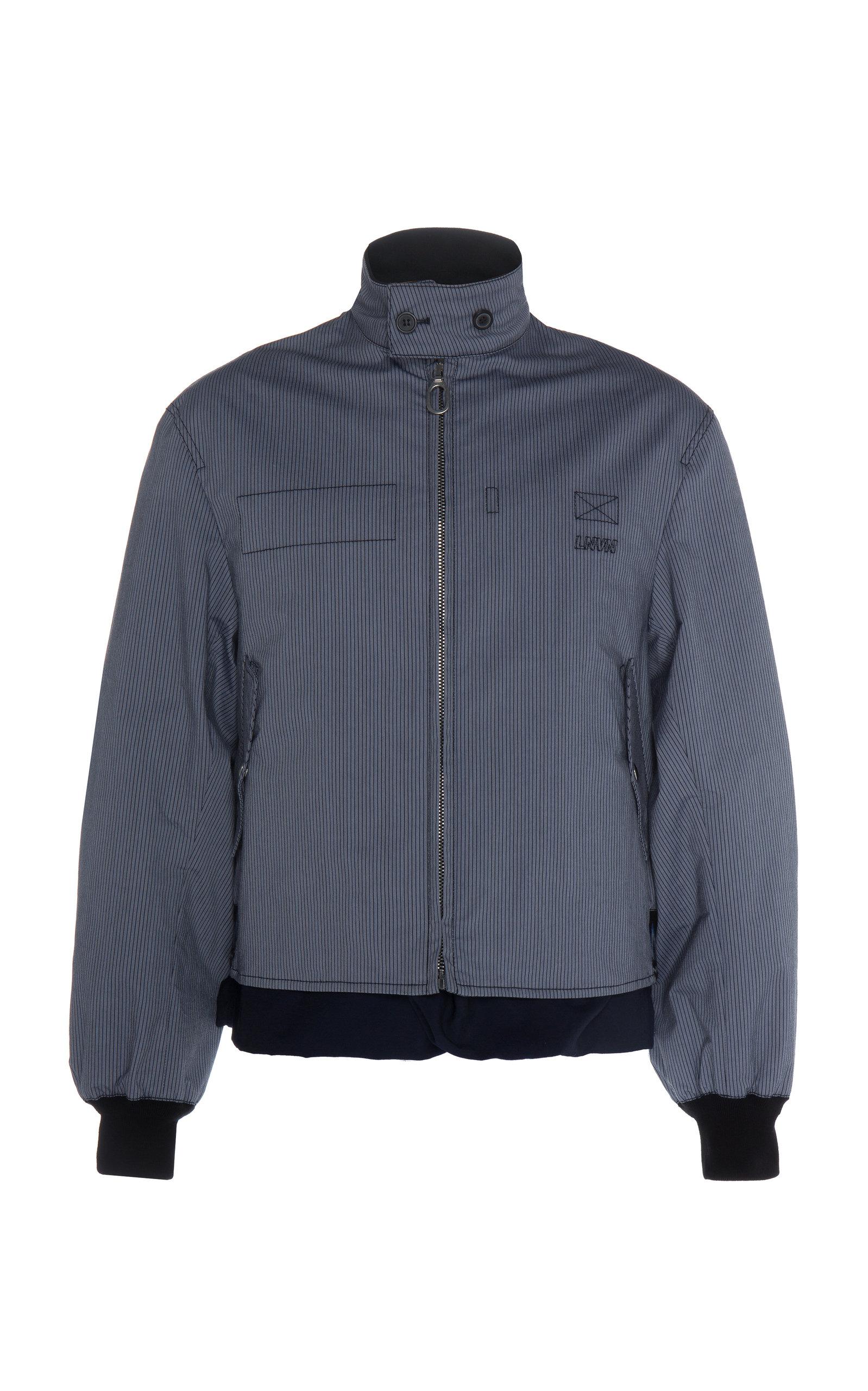 nouveaux articles couleur n brillante 100% qualité garantie Striped Blouson Bomber Jacket