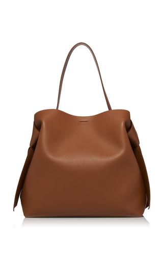 ACNE STUDIOS | Acne Studios Musubi Maxi Knotted Leather Shoulder Bag | Goxip