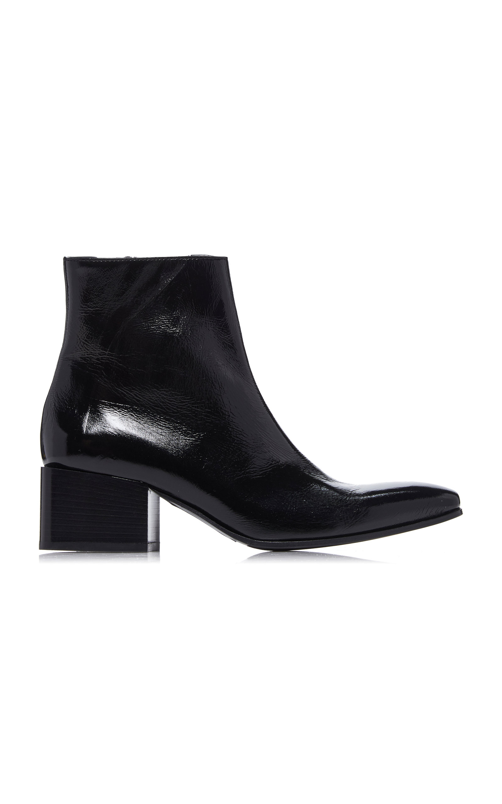d24309e60aa36 Birgit Patent Leather Boots by Acne Studios   Moda Operandi