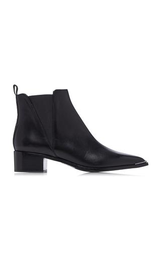 ACNE STUDIOS   Acne Studios Jensen Leather Chelsea Boots   Goxip