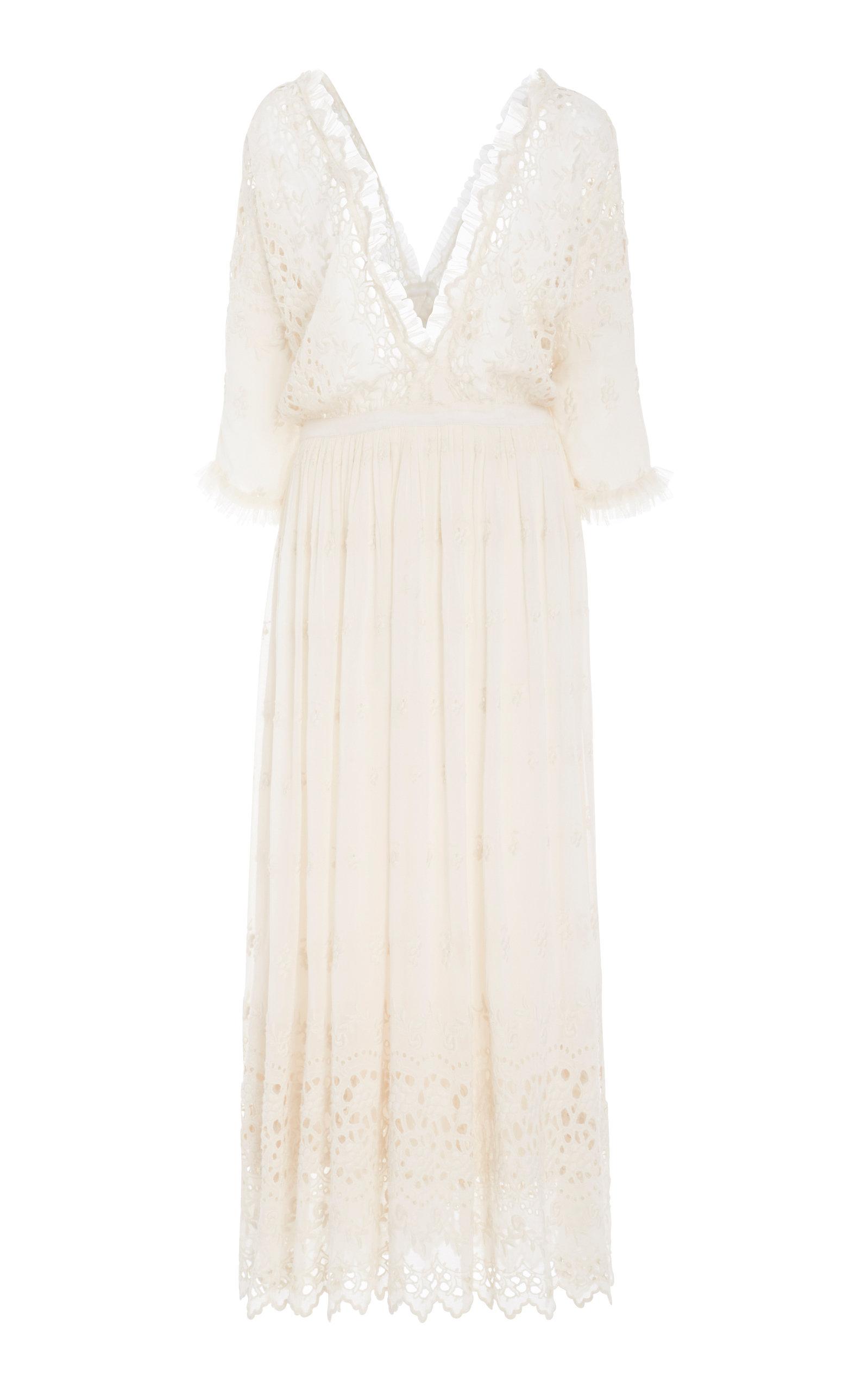 Delfina Crochet Maxi Dress by Love Shack Fancy