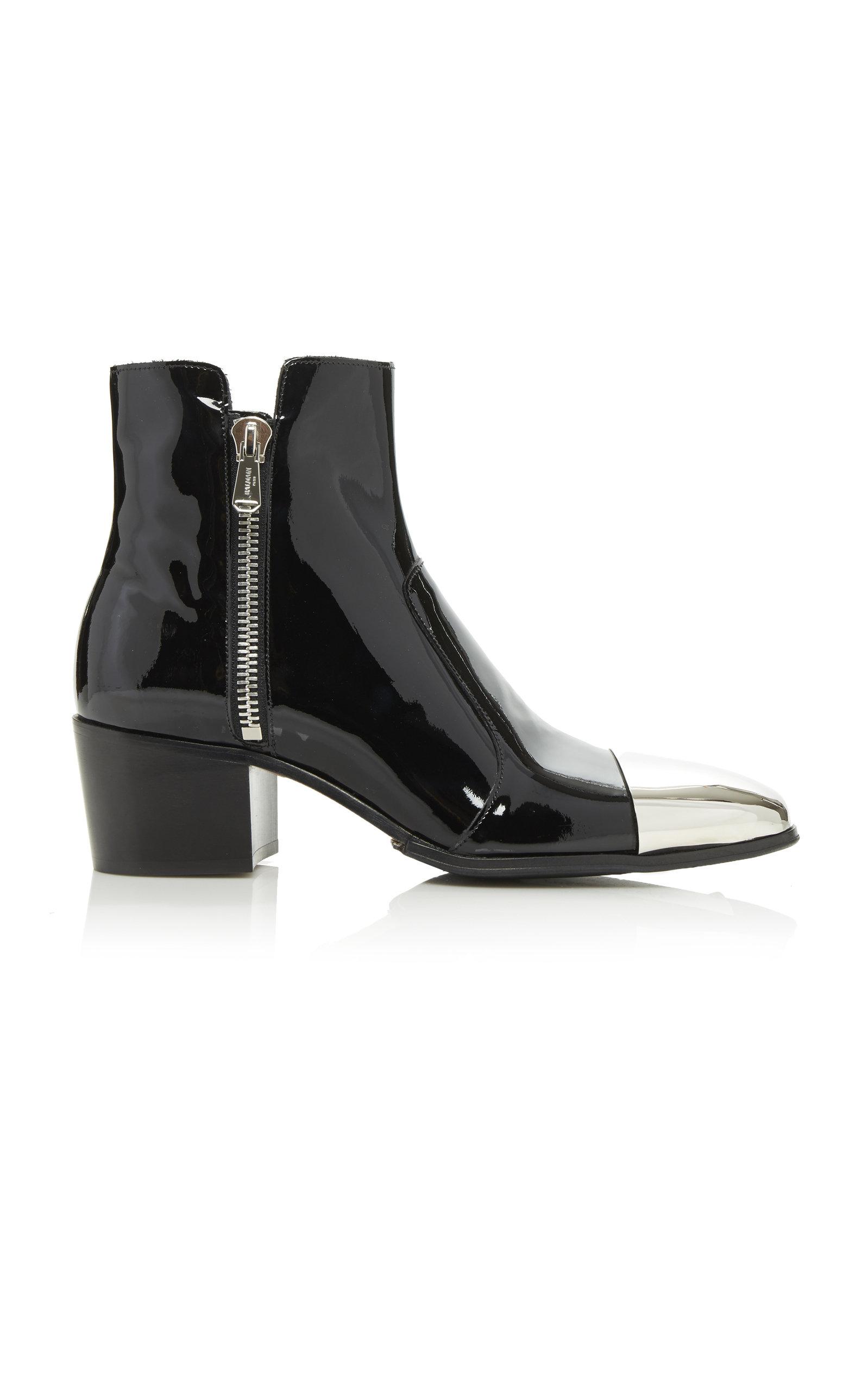 Karen Patent Boot Balmain lcox9485AH