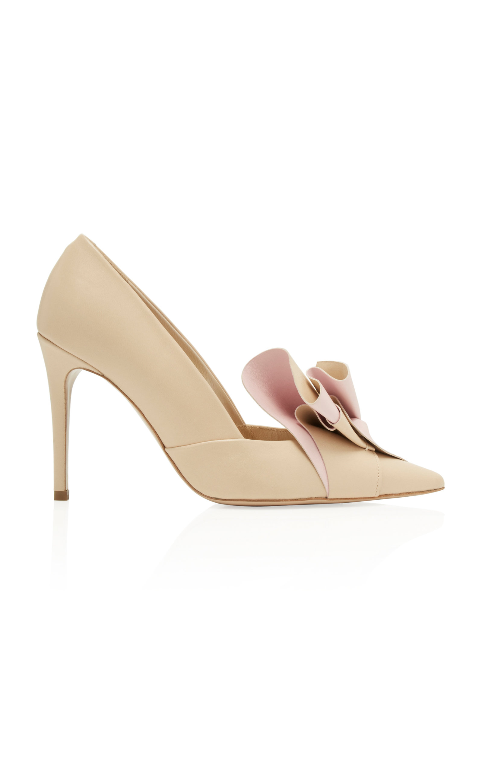 DELPOZO Pleated Pump MnjqBu