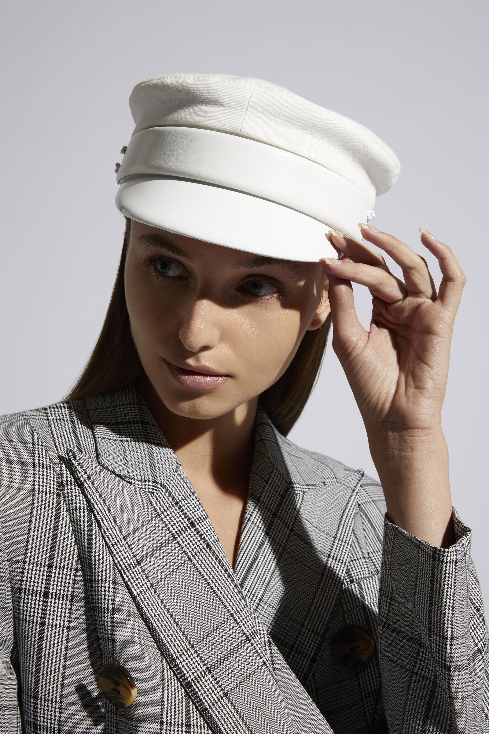 Ruslan Baginskiy Hats Baker Boy Cap In White  803f6c674fa