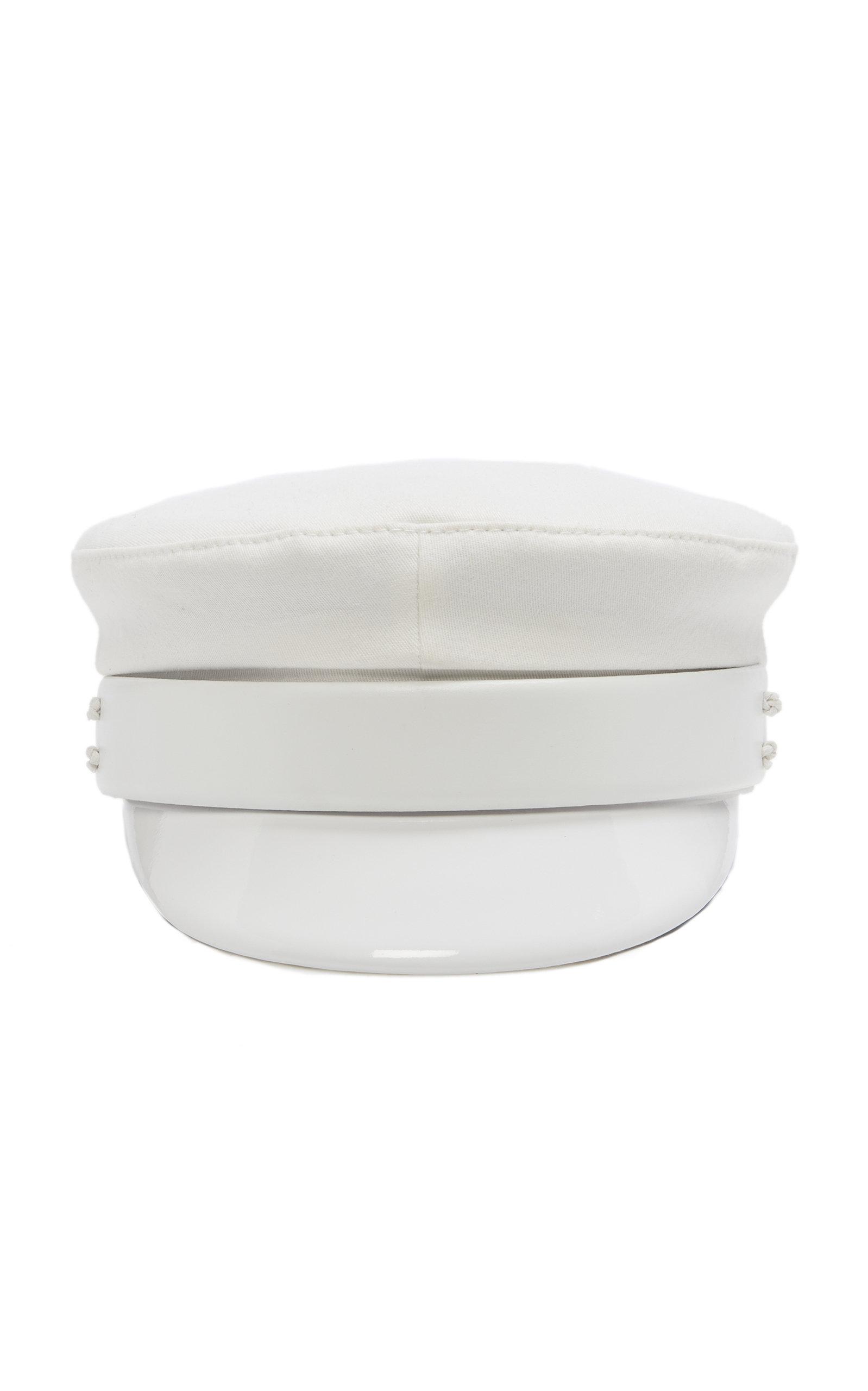 RUSLAN BAGINSKIY HATS Baker Boy Cap in White