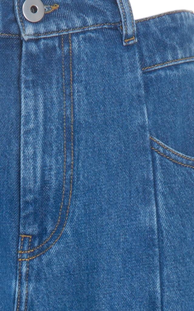 724d94ab52b6a9 Maison MargielaWide Leg Cutout Waist Jeans. CLOSE. Loading. Loading. Loading