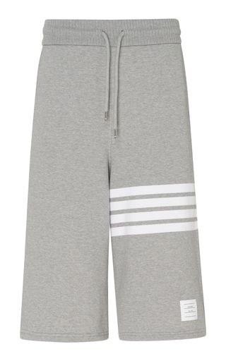 THOM BROWNE   Thom Browne Oversized Sweat Shorts   Goxip