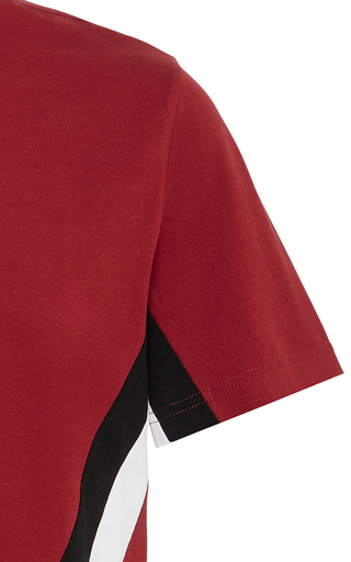 9754a4c1 Logo-Embroidered Striped Cotton-Jersey T-Shirt by Givenchy   Moda Operandi