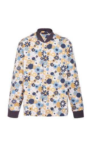 MARNI | Marni Floral-Print Shell Bomber | Goxip