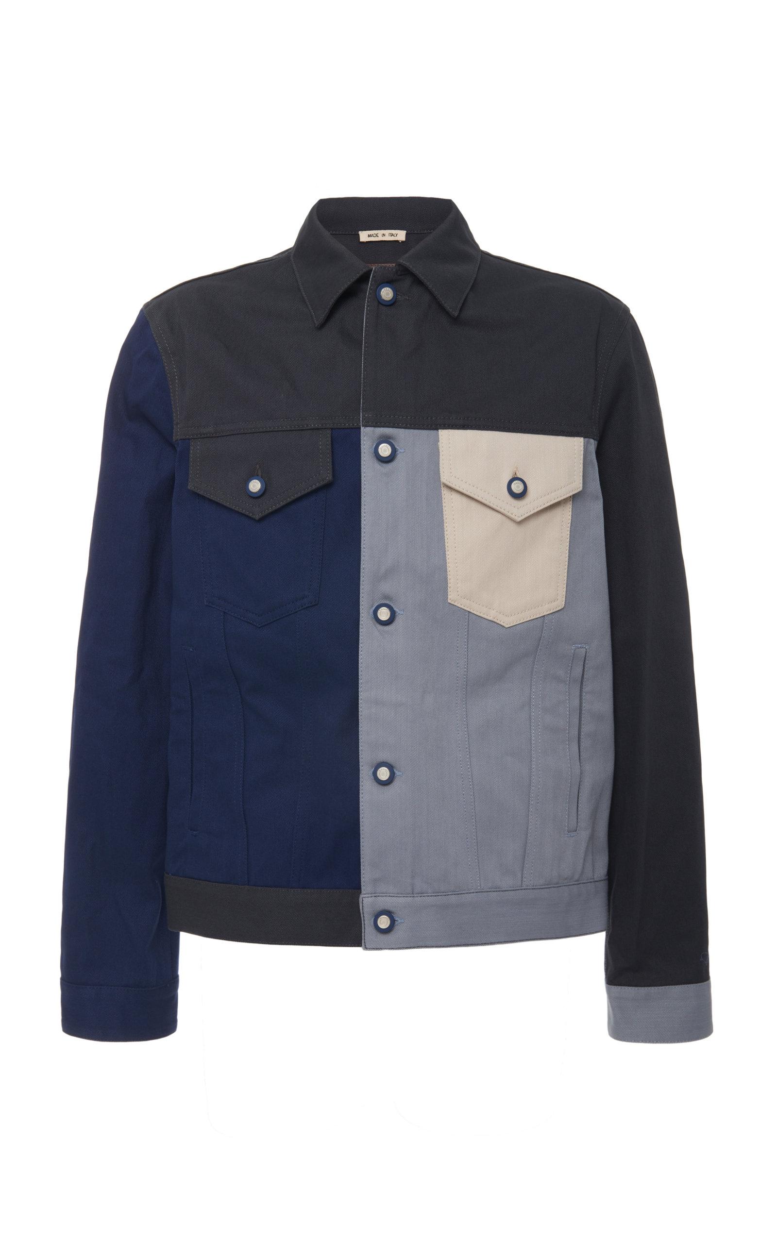 Marni Coats Paneled Denim Jacket