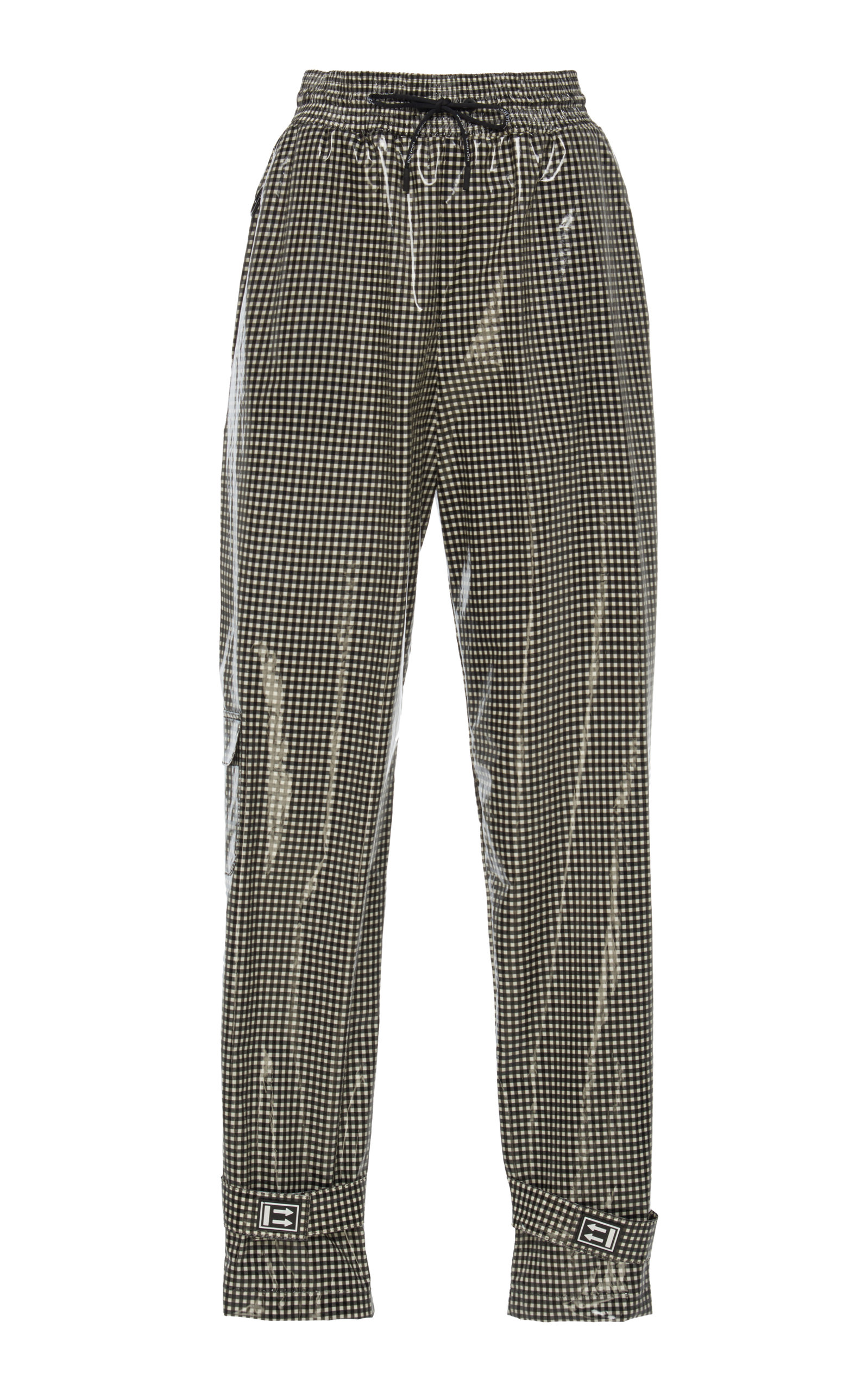 e6448997295d Gingham Jogging Pants by Off-White c o Virgil Abloh