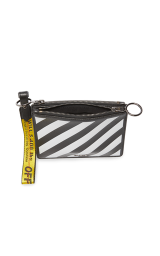 5275dcb9bad Diag Double Flat Pouch by Off-White c o Virgil Abloh