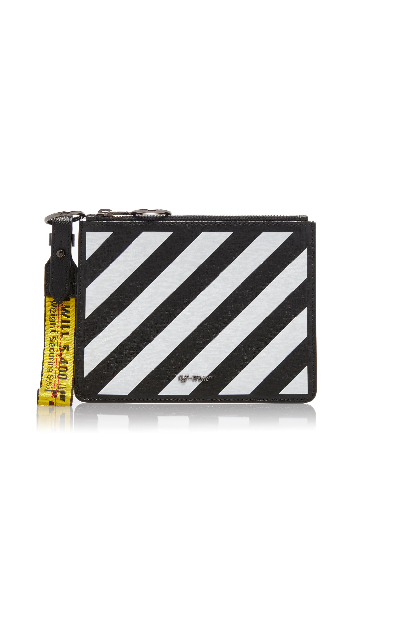 f9cd32c59a0 Off-White c o Virgil AblohDiag Double Flat Pouch. CLOSE. Loading