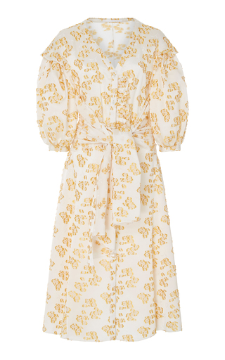 AUDRA   AUDRA Poppie Puff Sleeve Dress   Goxip