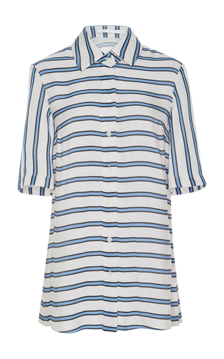 AUDRA   AUDRA Two Tone Stripe Shirt   Goxip