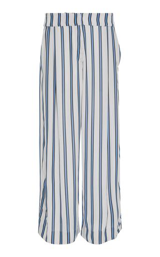 AUDRA   AUDRA Crop Wide Leg Stripe Trouser   Goxip