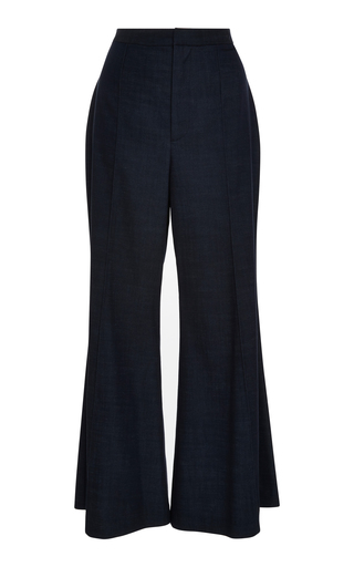 AUDRA   AUDRA Cropped Flare Pants   Goxip