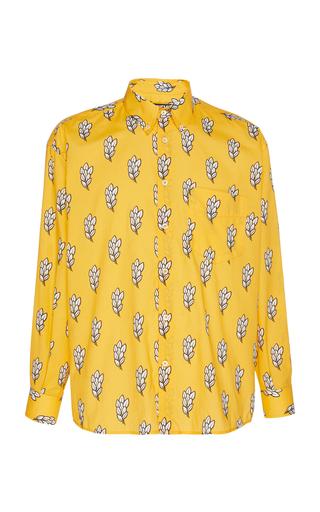 JACQUEMUS | Jacquemus La Chemise Simon Printed Cotton-Poplin Shirt | Goxip