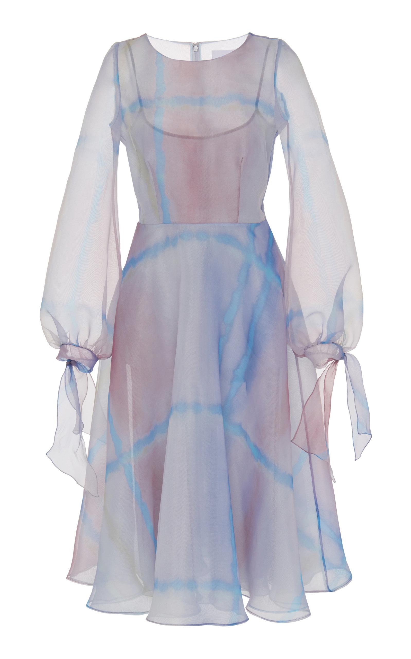1862d5d9ead52 Watercolor Midi Dress by Luisa Beccaria | Moda Operandi