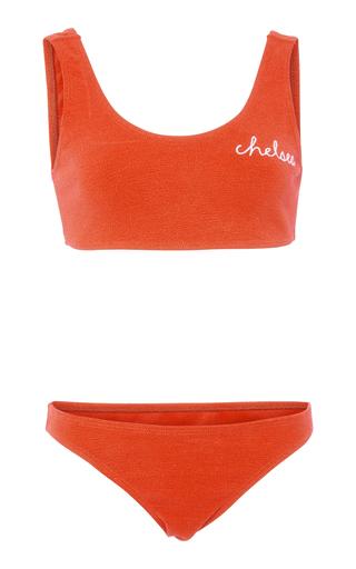 BRUNA MALUCELLI | Bruna Malucelli Custom Bianca Boucle Bikini Set | Goxip