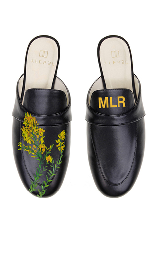 ALEPEL | Alepel Golden Rod Mule | Goxip