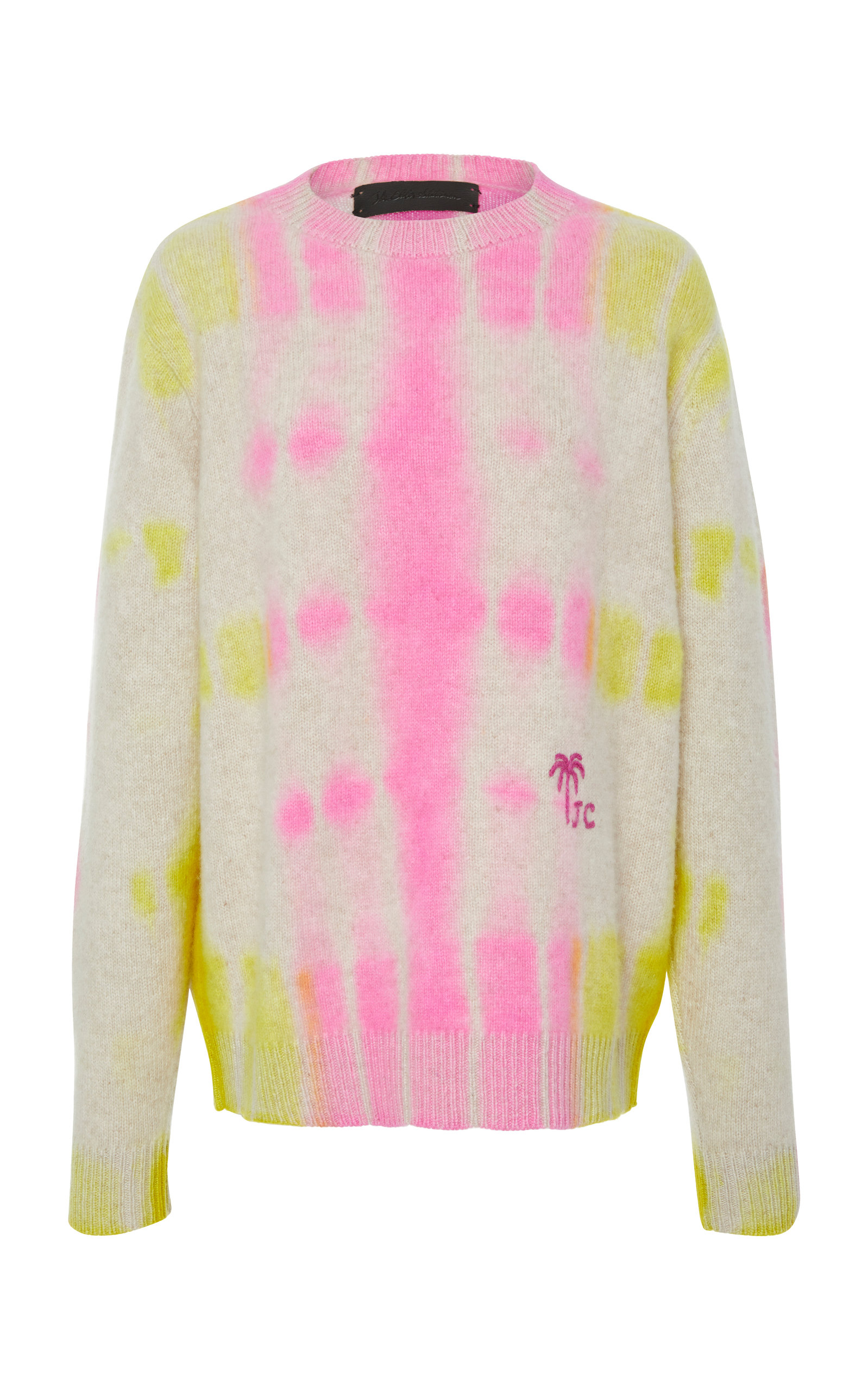 M'ONOGRAMMABLE TIE DYED CREWNECK