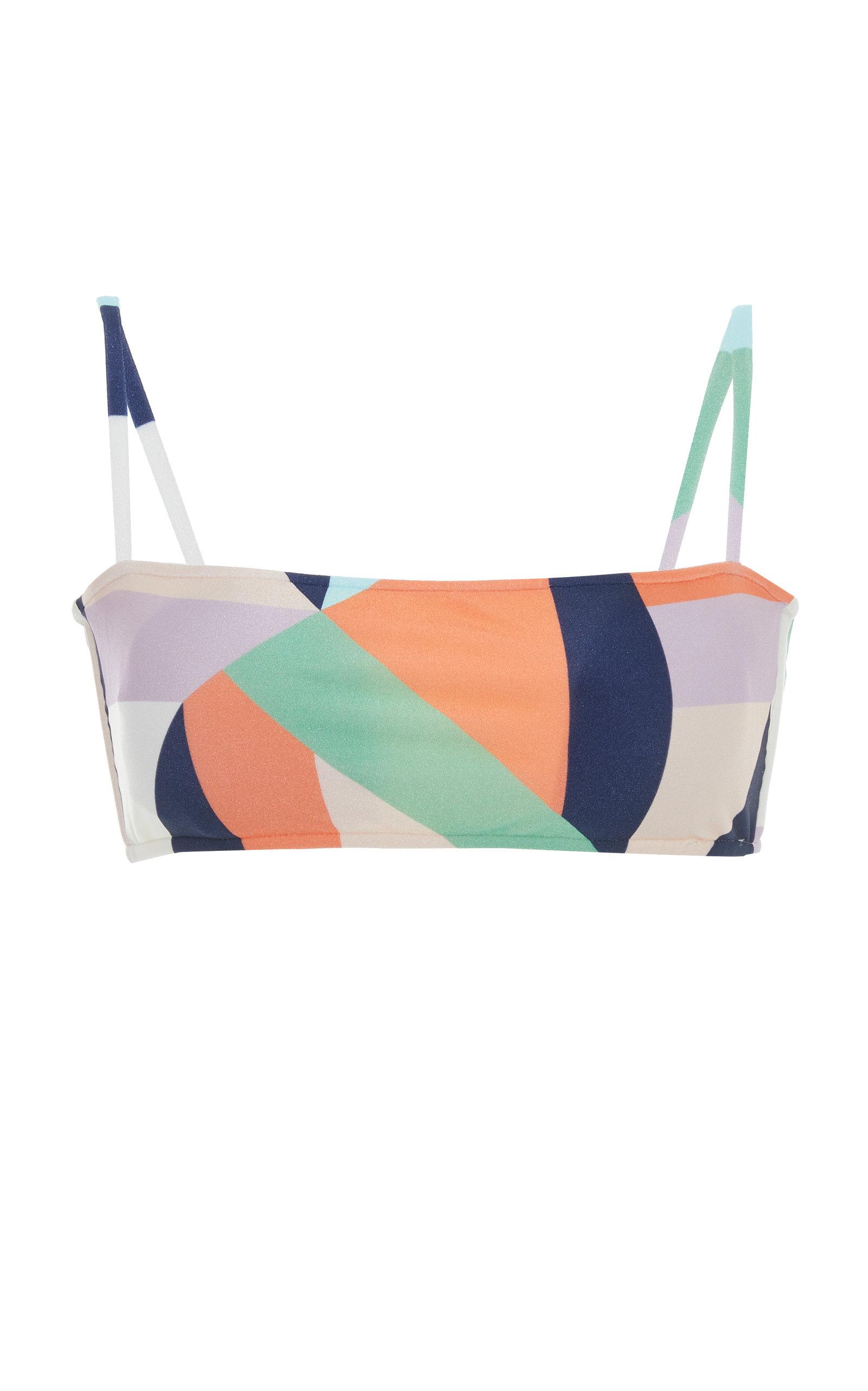 Salinas Graphic Bikini Top Meilleur Endroit La Vente En Ligne Livraison Rapide Vente 100% D'origine h1OnG