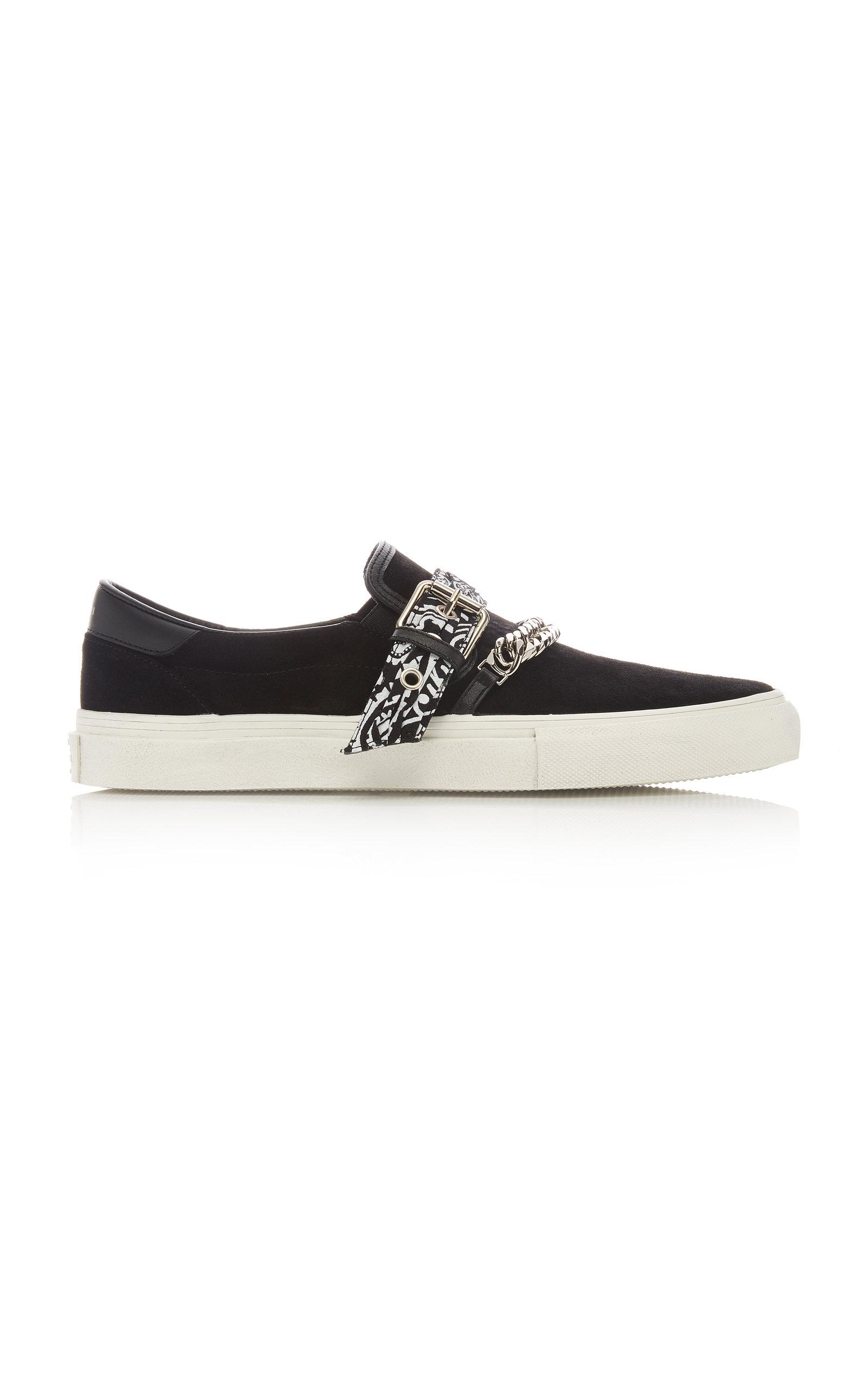 Amiri Sneakers Embellished Suede Sneakers