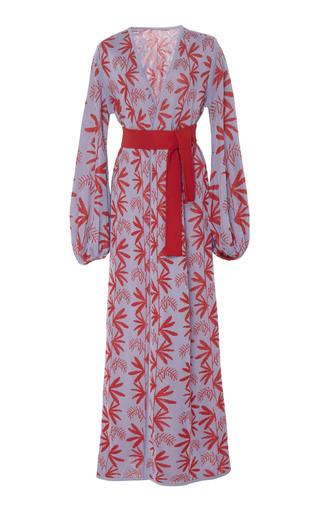 PEPA POMBO | Pepa Pombo Fontana Reversible Belted Robe | Goxip
