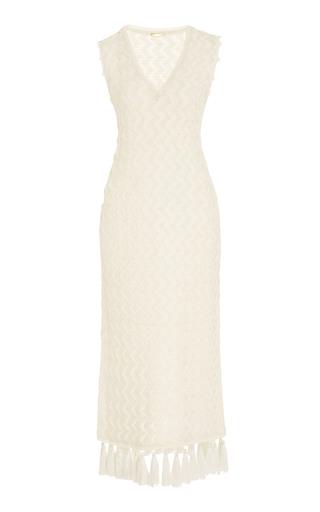 PEPA POMBO | Pepa Pombo Ocean Side Tassel Hem Dress | Goxip