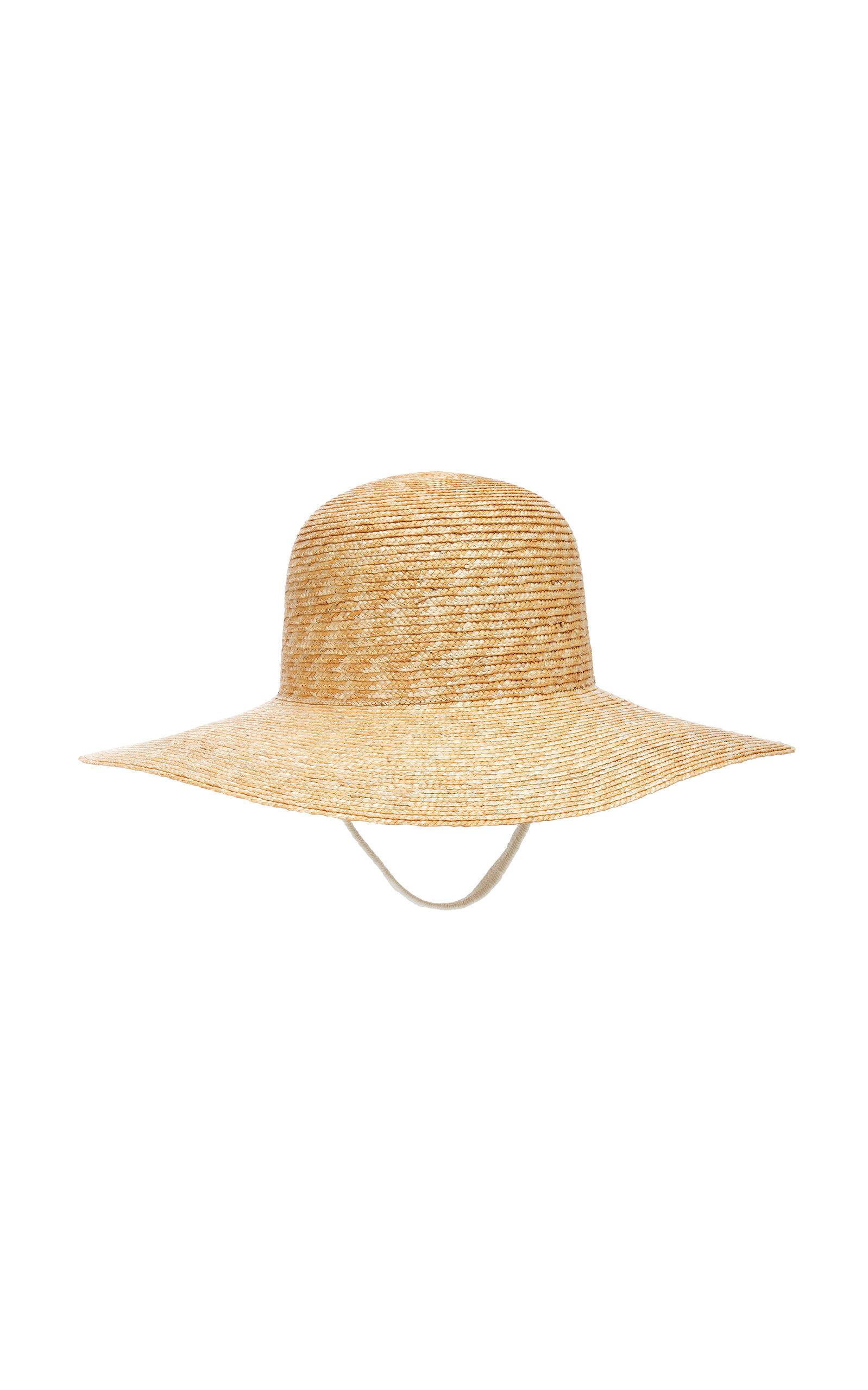 79b9c8aa298 Woven Wide-Brimmed Sun Hat by Federica Moretti