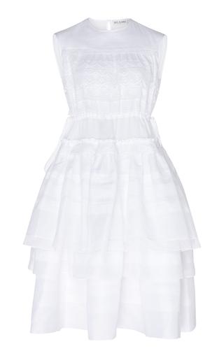 DICE KAYEK | Dice Kayek Sleeveless Cotton Dress | Goxip