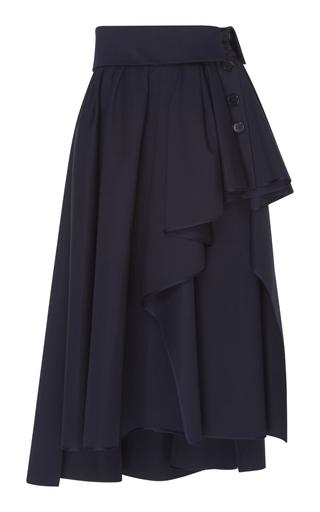 DICE KAYEK | Dice Kayek Asymmetric Midi Skirt | Goxip