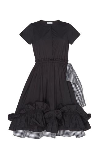 DICE KAYEK | Dice Kayek Elegant Ruffle Silk Dress | Goxip