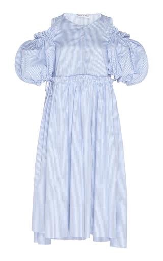 DICE KAYEK | Dice Kayek Puff Sleeve Cotton Dress | Goxip