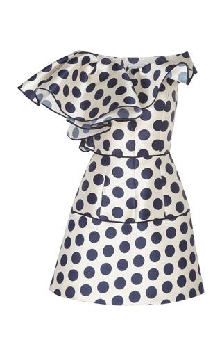 DICE KAYEK | Dice Kayek Polka Dot Structured Mini Dress | Goxip