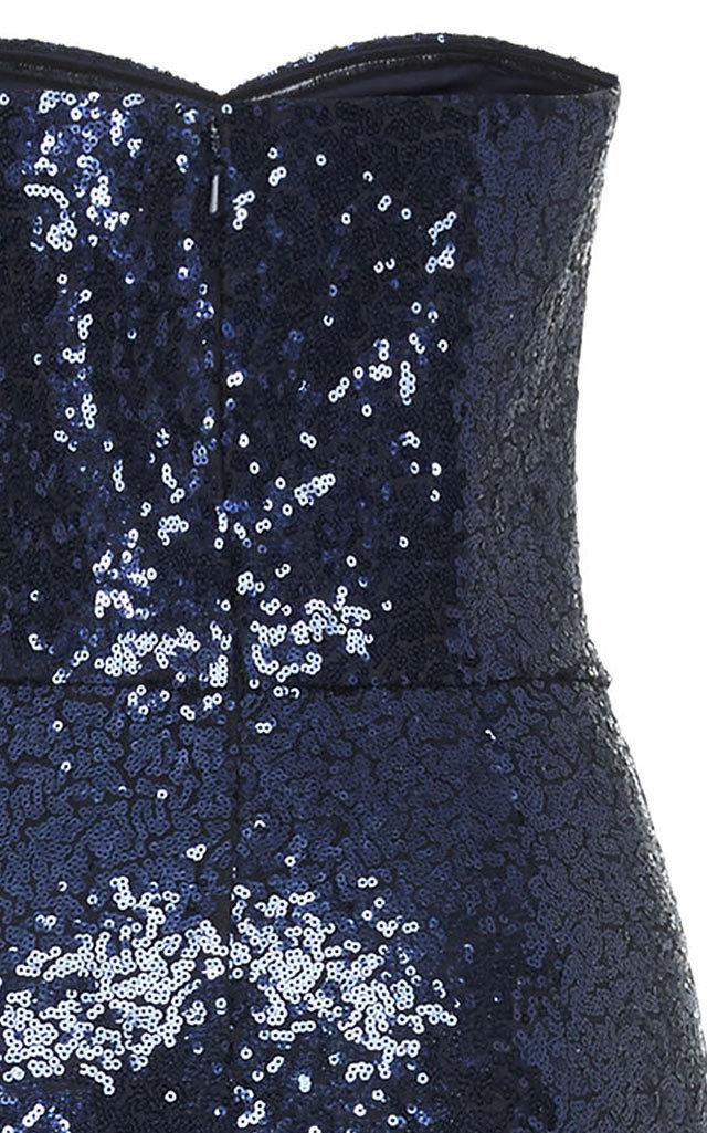 265711c7e8 SaloniAurelie Strapless Sequin Jumpsuit. CLOSE. Loading. Loading. Loading
