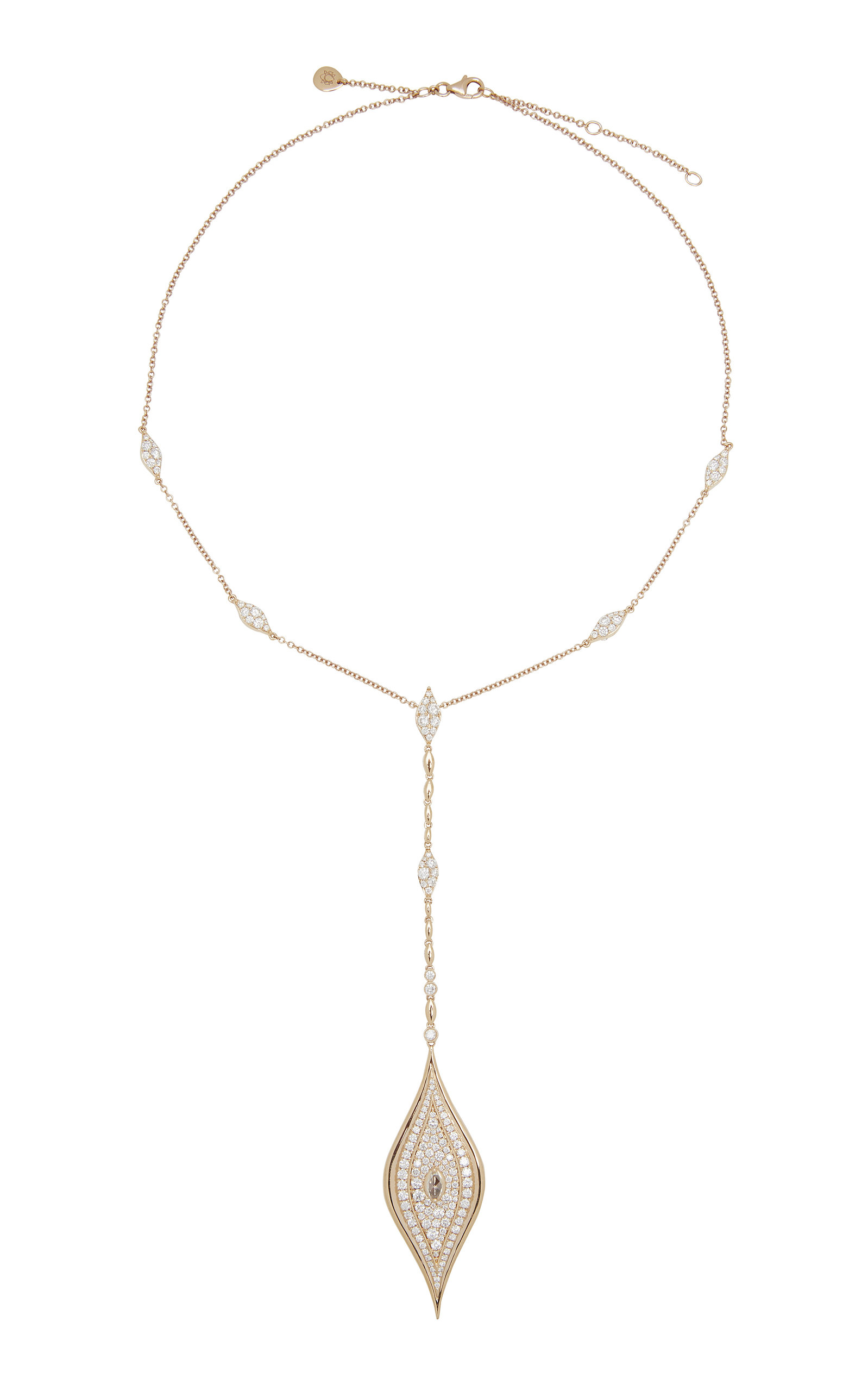SARA WEINSTOCK DONNA ROSE CUT NECKLACE