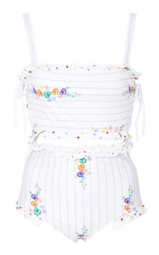 ALL THINGS MOCHI   All Things Mochi Talia Printed Bikini   Goxip