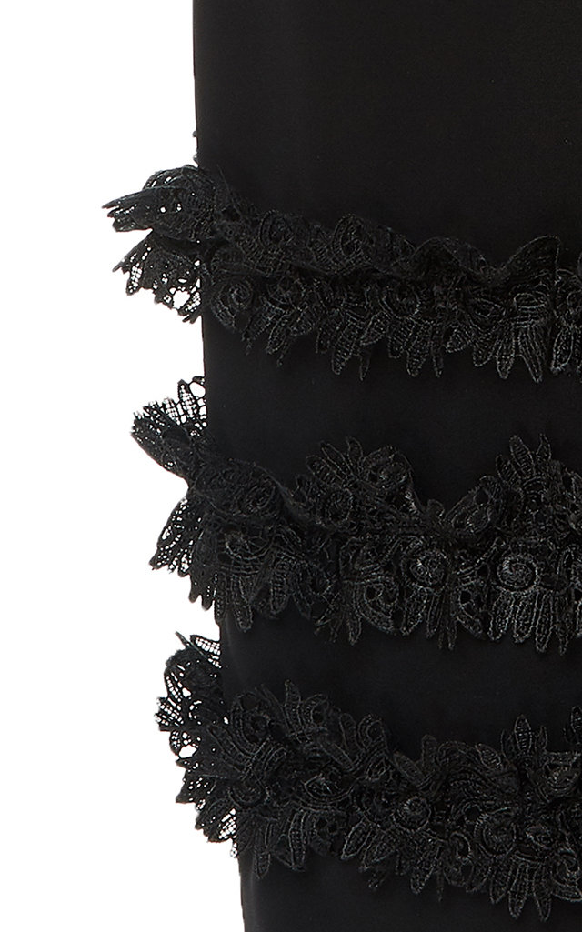 acb09decc3 Christian SirianoBlack Lace Trim Dress. CLOSE. Loading. Loading. Loading