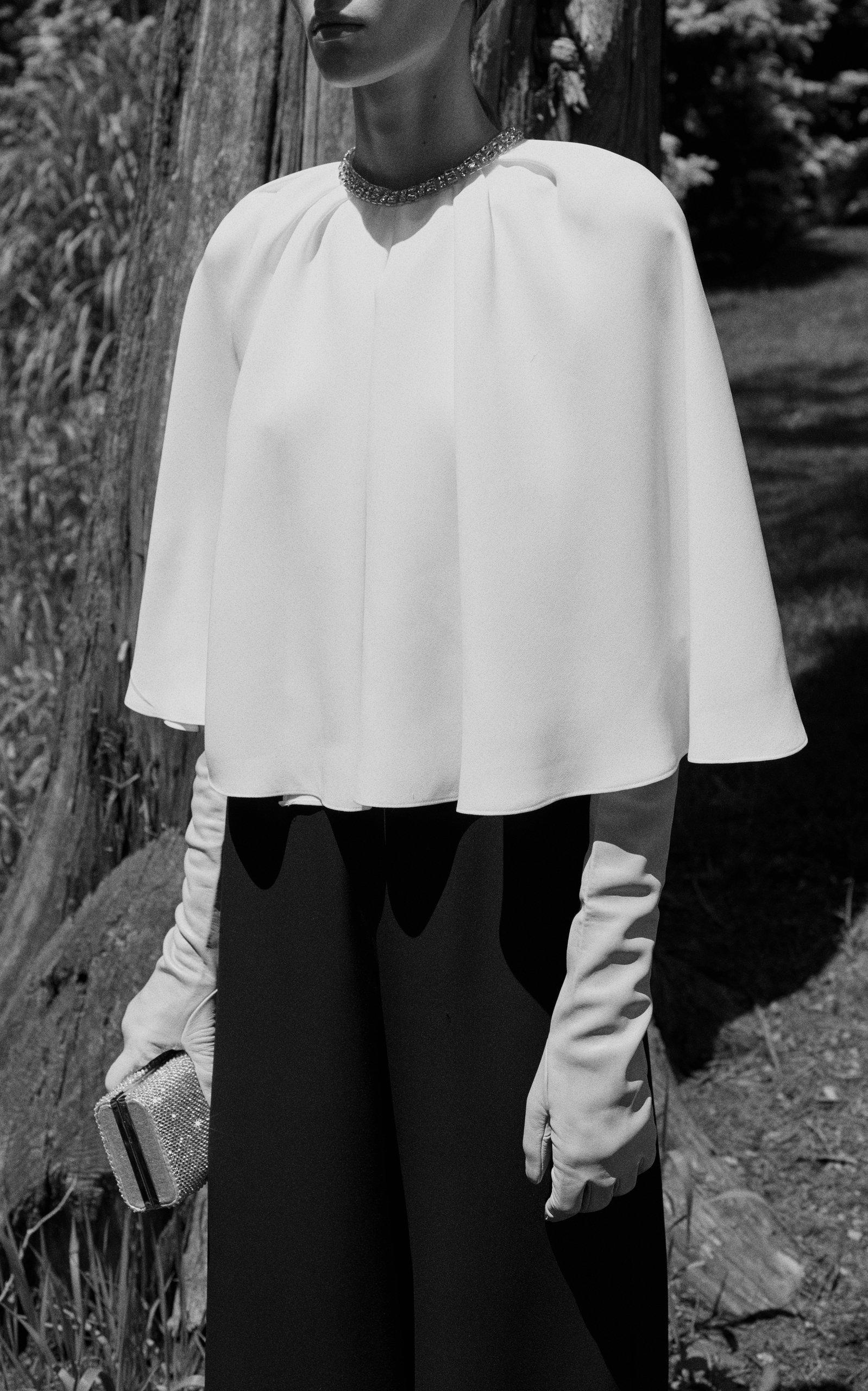 e22b51af1ef Reem AcraCape Silk Jumpsuit. CLOSE. Loading