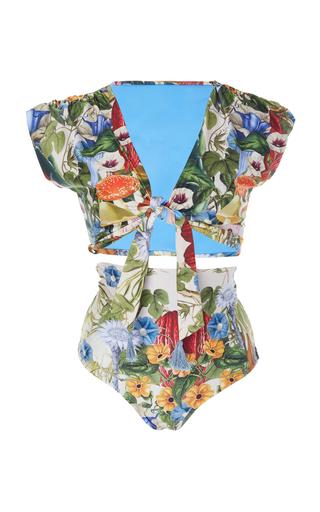 CAROLINA K | Carolina K Nina Reversible High-Waisted Bikini Set | Goxip