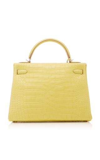 Only 1 Left · Hermes VintageHermes 32cm Lime Matte Alligator Kelly Bag c01b1e34b