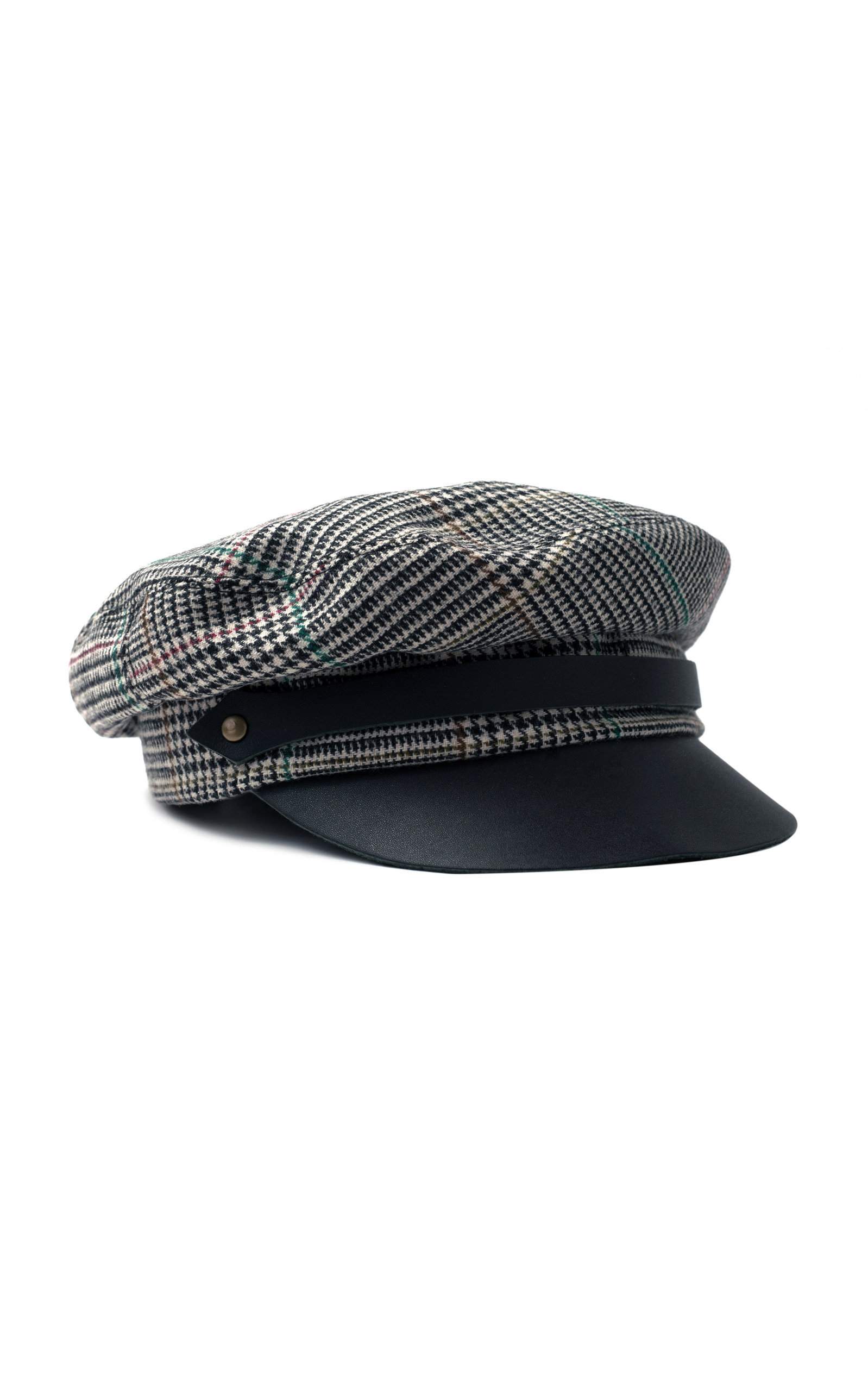 GLEN PLAID CORTO CHAUFFEUR HAT