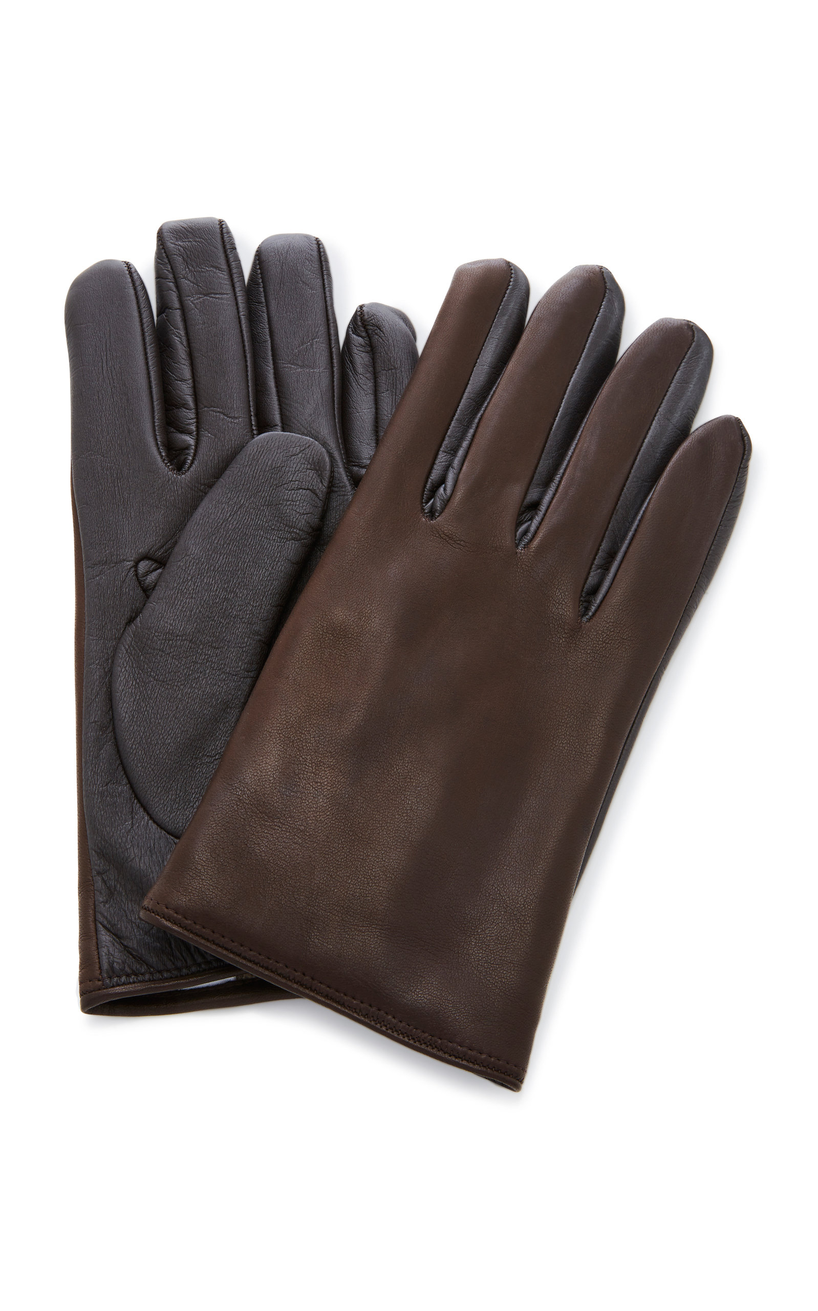 f0d5964dd66c Cashmere-Lined Leather Gloves by Labonia