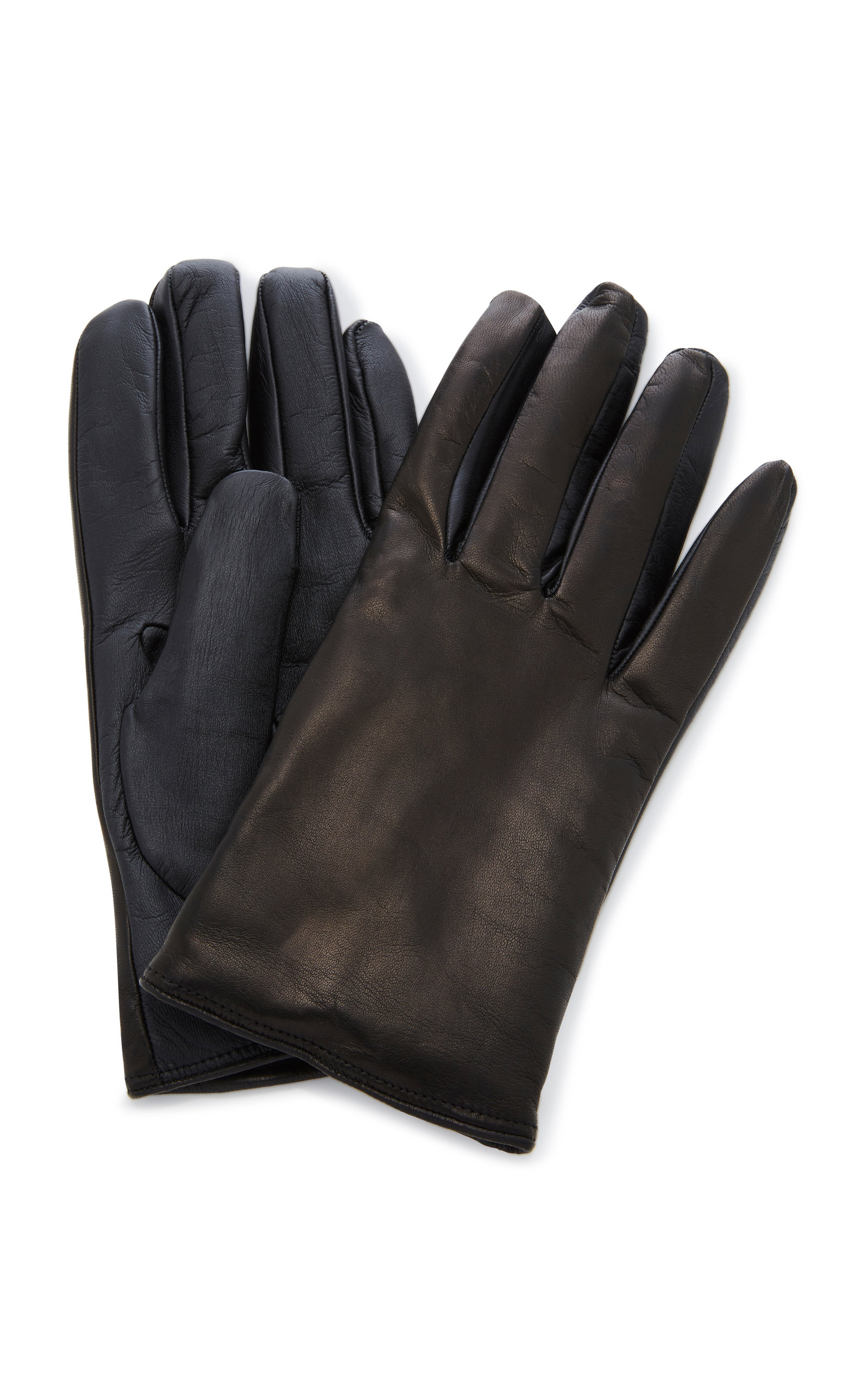 1131bcf3201b6 Cashmere-Lined Leather Gloves by Labonia | Moda Operandi