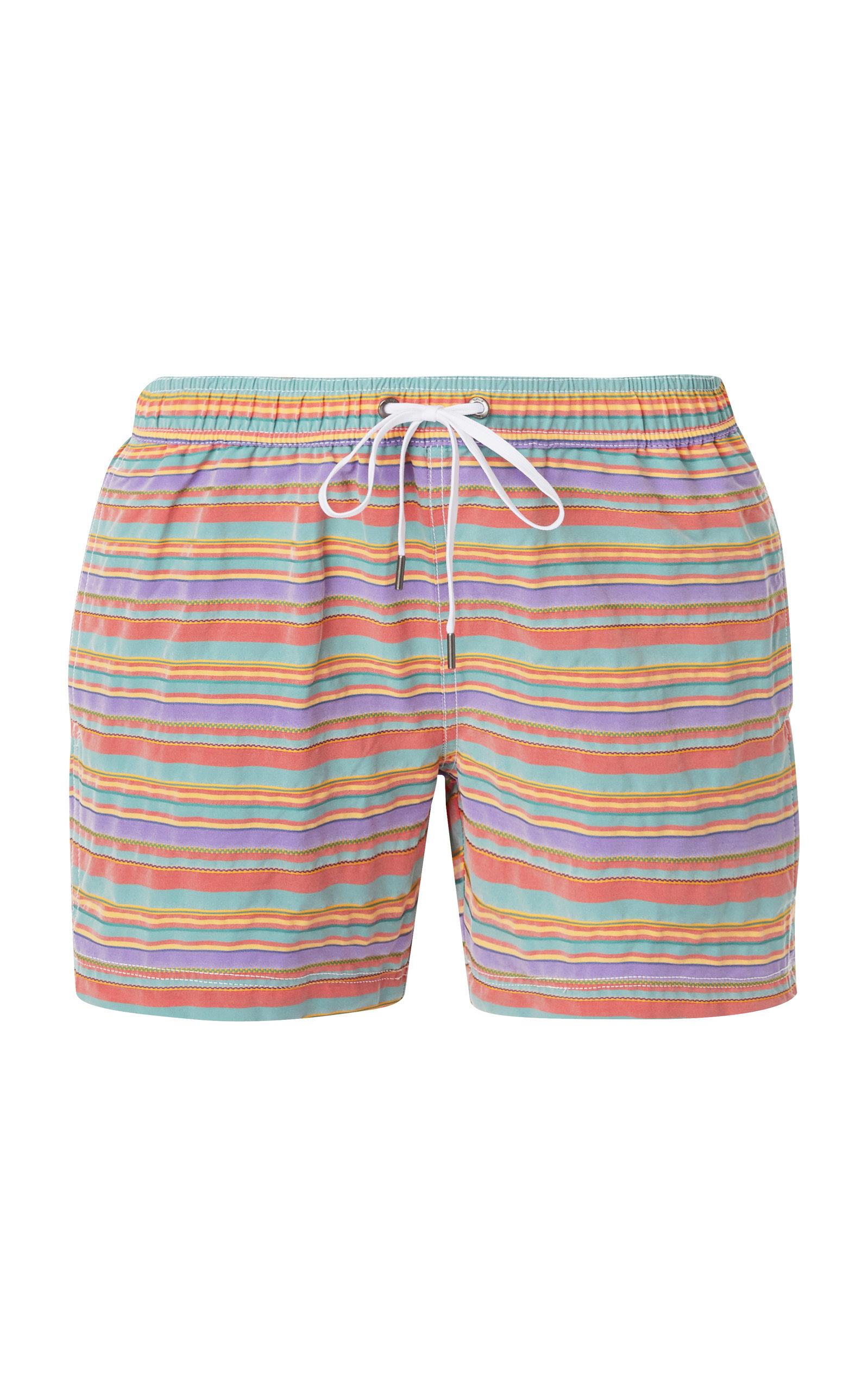 766b1702b0c02 Charles Striped Swim Trunks by Onia | Moda Operandi