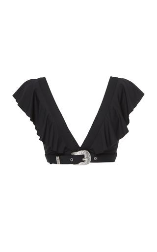 ONIA | Onia + WeWoreWhat Willa Belted Bikini Top | Goxip